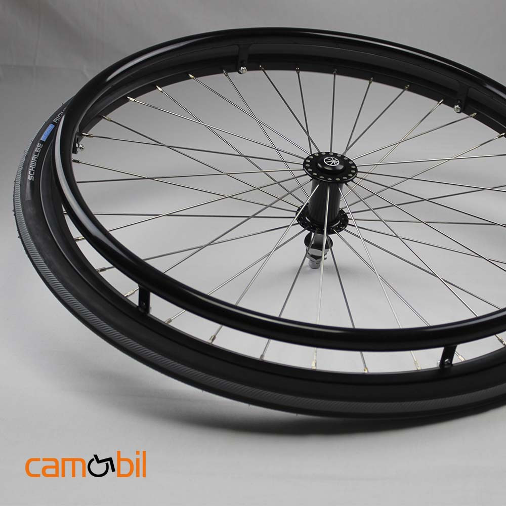 Silla ruedas aluminio