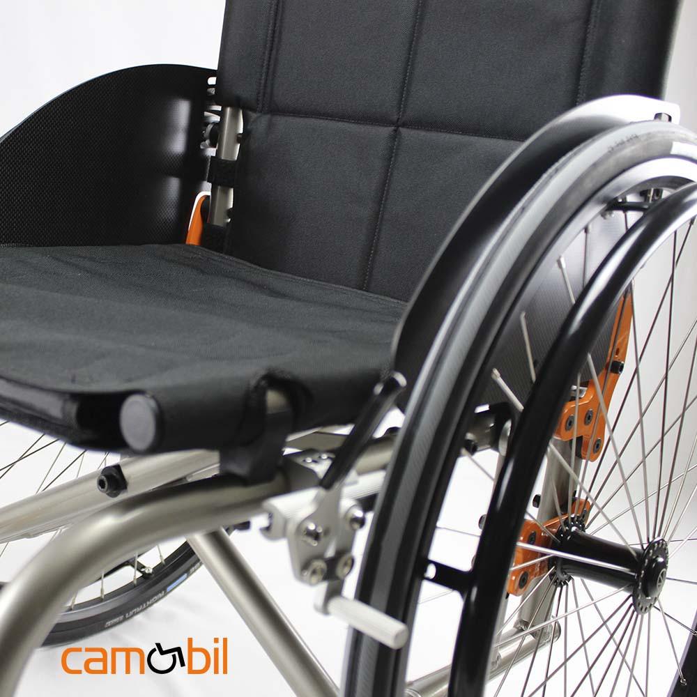 Folding wheelchair aluminium