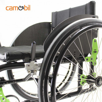 Semi active wheelchair