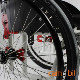 fauteuil roulant sideguard